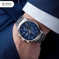 Lorus RM319FX9 zegarek srebrny klasyczny Klasyczne bransoleta