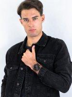 Zegarek męski z chronograf Lorus Klasyczne RM365EX9 - duże 4