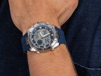 Zegarek męski z chronograf Lorus Sportowe R2B09AX9 - duże 6