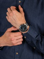 Zegarek męski z chronograf Lorus Sportowe RT301HX9 - duże 5