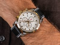 Zegarek męski z chronograf Pierre Ricaud Pasek P60033.2213QF - duże 6