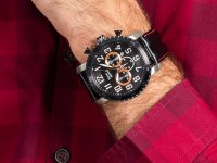 Zegarek męski z chronograf Pierre Ricaud Pasek P91081.Y22RCH - duże 6