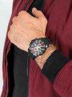 Zegarek męski z chronograf Pierre Ricaud Pasek P97012.B214CHR - duże 5