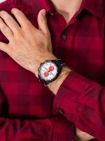 Zegarek męski z chronograf Vostok Europe Almaz 6S11-320C374 Almaz Chrono Scott Free Racing Edition - duże 5