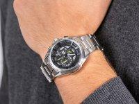Zegarek męski z tachometr  Chronograf F6864-6 - duże 6