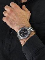 Zegarek męski z tachometr Bulova Precisionist 96B258 - duże 5