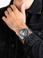 Zegarek męski z tachometr Casio EDIFICE Momentum EFR-547D-1AVUEF - duże 5