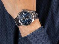Zegarek męski z tachometr Citizen Titanium CA0700-86L - duże 6