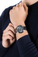 Zegarek męski z tachometr Festina Chronograf F20202-2 Precision Center Chrono - duże 5