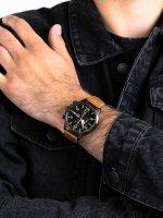 Zegarek męski z tachometr Lorus Klasyczne RM349EX9 - duże 5