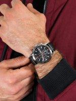 Zegarek męski z tachometr Lorus Sportowe RM309GX9 - duże 5
