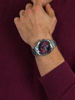 zegarek Lorus RT337HX9 męski z tachometr Sportowe