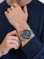 Zegarek męski z tachometr Pierre Ricaud Bransoleta P97029.5115CH - duże 5