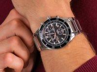 Zegarek męski z tachometr Pierre Ricaud Bransoleta P97029.51R4CH - duże 6