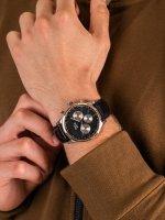 Zegarek męski z tachometr Pierre Ricaud Pasek P60014.R214QF - duże 5