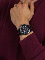 Zegarek męski z tachometr Pierre Ricaud Pasek P97222.B254QFR - duże 5