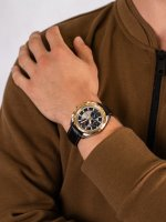 Zegarek męski z tachometr Pierre Ricaud Pasek P97235.2217QF - duże 5