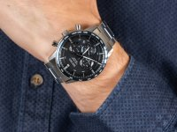 Zegarek męski z tachometr Seiko Chronograph SSB357P1 Quartz Chronograph 100m - duże 6