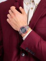 Zegarek męski z tachometr Seiko Solar SSC433P1 - duże 5
