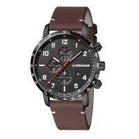 Zegarek męski z tachometr Wenger Attitude 01.1543.107 - duże 4