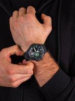Zegarek męski z termometr  G-SHOCK Master of G GA-1100-1A3ER GRAVITYMASTER - duże 5