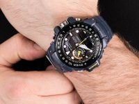 Zegarek męski z termometr Casio G-SHOCK Master of G GWN-1000NV-2AER Gulfmaster - duże 6