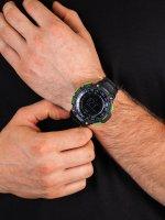 Zegarek męski z termometr Casio Sportowe SGW-1000-2BER - duże 5