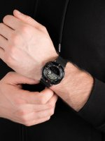 Zegarek męski z termometr Casio Sportowe SGW-600H-1BER - duże 5
