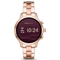 Michael Kors MKT5046 zegarek różowe złoto fashion/modowy Access Smartwatch bransoleta