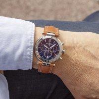zegarek Michel Herbelin 37654/AP15GO męski z tachometr Newport