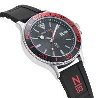 N-83 NAPABS024 zegarek srebrny klasyczny Nautica N-83 pasek
