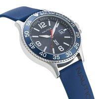 N-83 NAPCBS022 zegarek srebrny klasyczny Nautica N-83 pasek