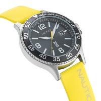N-83 NAPCBS023 zegarek srebrny klasyczny Nautica N-83 pasek