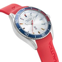 N-83 NAPFWS002 zegarek srebrny klasyczny Nautica N-83 pasek