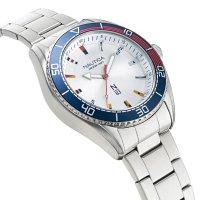 N-83 NAPFWS005 zegarek srebrny klasyczny Nautica N-83 bransoleta