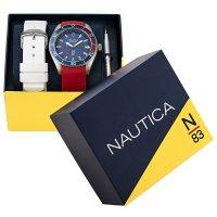 N-83 NAPFWS011 FINN WORLD BOX SET zegarek klasyczny Nautica N-83