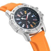 N-83 NAPGCS003 zegarek srebrny klasyczny Nautica N-83 pasek