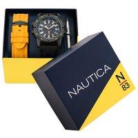 N-83 NAPGCS009 GARDA CUP BOX SET zegarek klasyczny Nautica N-83