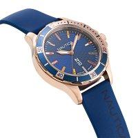 N-83 NAPMHS001 zegarek różowe złoto klasyczny Nautica N-83 pasek