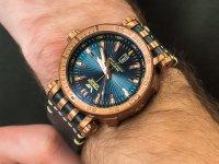 zegarek Vostok Europe NH35A-575O286 brązowy Energia Rocket