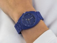 Zegarek niebieski fashion/modowy Anne Klein Pasek AK-1957CBST bransoleta - duże 6