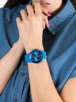 Zegarek niebieski fashion/modowy ICE Watch ICE-Sixty nine ICE.014228 pasek - duże 5