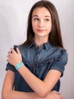 Zegarek niebieski fashion/modowy Lacoste Damskie 2030005 pasek - duże 4