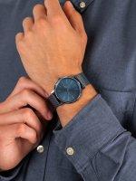 Zegarek niebieski fashion/modowy Lacoste Męskie 2011057 bransoleta - duże 5