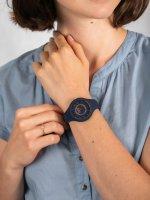 Zegarek niebieski fashion/modowy Versus Versace Damskie VSPOQ4019 pasek - duże 5