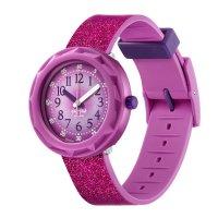 Zegarek niebieski klasyczny  Power Time FCSP106 pasek - duże 5