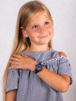 Zegarek niebieski klasyczny Lacoste Damskie 2030028 pasek - duże 4