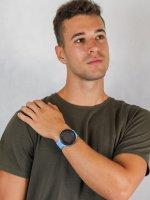 Zegarek niebieski sportowy  Ambit3 SS021968000 pasek - duże 4