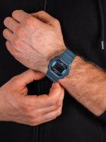 Zegarek niebieski sportowy  G-SHOCK Original DW-5600CC-2ER pasek - duże 5