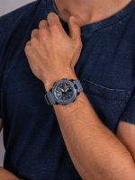 Zegarek niebieski sportowy Casio G-Shock GA-2000SU-2AER pasek - duże 5